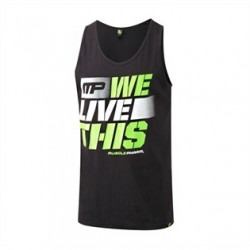 MPM18 Mens Tanktop ''We Live This ''
