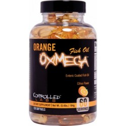 Controlled Labs Orange OxiMega Fish Oil - 120kapslit