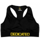 Dedicated Women Sports Bra - Black