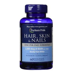 PP HAIR, SKIN & NAILS ONE PER DAY FORMULA - 60kapslit