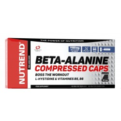 Nutrend Beta Alanine Compressed - 90 kapslit