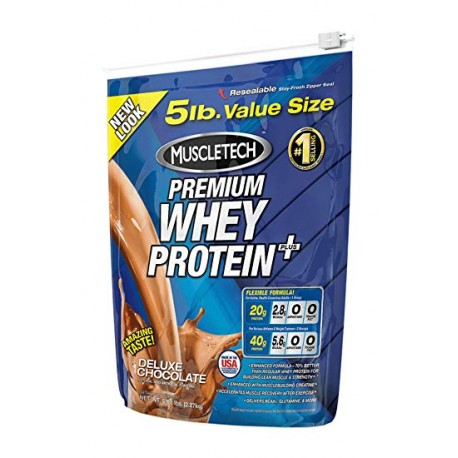Muscletech Whey Protein Plus - 907g