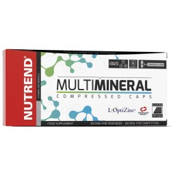 Nutrend Multimineral Compressed - 60 kapslit.