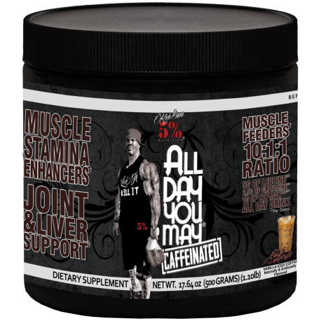 5 % All Day You May (Caffenated) -465g