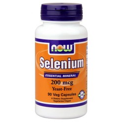 NOW FOODS SELENIUM 200 MCG 90KPS