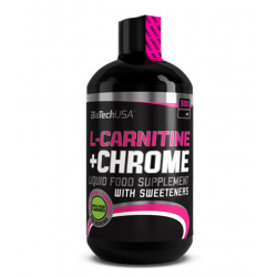 Biotech L-Carnitine + Chrom - 500ml