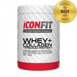 ICONFIT WHEY+ Collagen • Premium Protein • - 400g