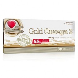 Gold Omega 3 (65%) 1000mg - 60 kapslit.
