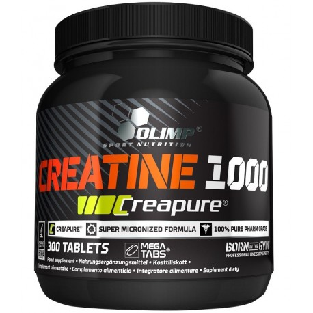 Olimp Creatine 1000 - 300 kapslit.