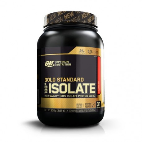 Optimum Nutrition Gold Standard 100% Isolate - 930g