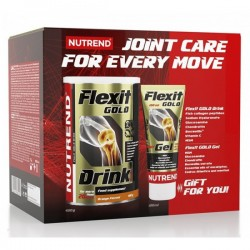 Flexit Drink Gold - 400g + FleGELGold 100ml.