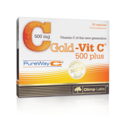 Olimp Gold Vit C 500 Plus - 30 kapslit.
