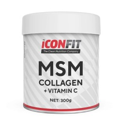 ICONFIT MSM Collagen +vitC -  300g.