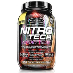 Muscletech Nitrotech Performance Nighttime - 907g.