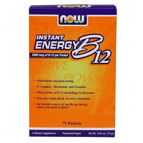 Now B-12 Instant Energy 2000mcg - 75 pakikest.