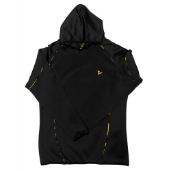 Dedicated Black Hoodie Lux