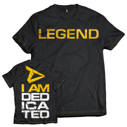 "Dedicated T-Shirt ""Legend"""