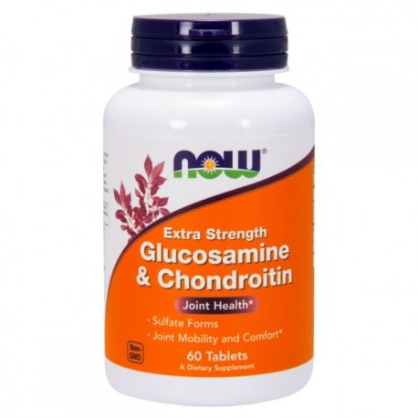 NOW FOODS GLUCOSAMINE & CHONDROITIN 60CPS