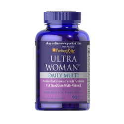 PURITAN'S PRIDE ULTRA WOMAN DAILY MULTI TIMED RELEASE 90kps