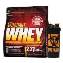 MUTANT Whey 2,27kg + MUTANT Shaker 1000ml