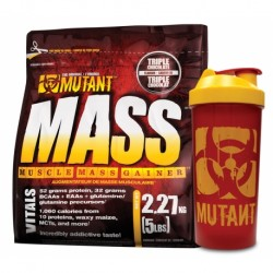 MUTANT MASS 2,27kg + MUTANT Shaker 1000ml